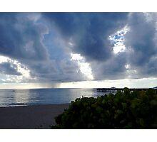 Storm Over Atlantic Photographic Print