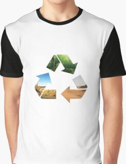 Earth recycle Graphic T-Shirt