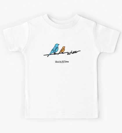 Birds On A Wire Kids Tee