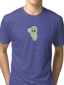 alien no. 2 Tri-blend T-Shirt