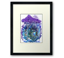 Beautiful forest Framed Print