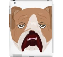 Wrinkley Old Bulldog iPad Case/Skin