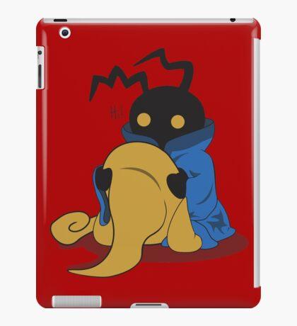 Black Heartless iPad Case/Skin