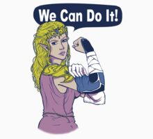 ZELDA - We Can Do It!  by DaniKDesign