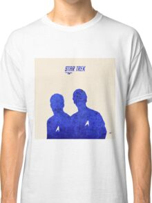 Kirk and Spock, Star Trek Classic T-Shirt