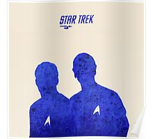 Kirk and Spock, Star Trek Poster