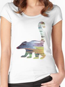 Coati  Women's Fitted Scoop T-Shirt