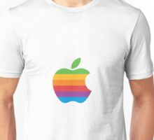 Apple multicolor Unisex T-Shirt