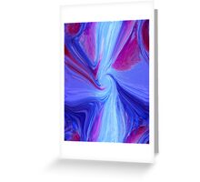Purple abstract background Greeting Card