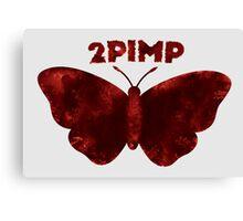 2 Pimp A Butterfly Alternate Logo Canvas Print
