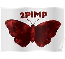 2 Pimp A Butterfly Alternate Logo Poster