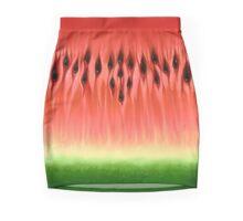 WATAMELOOONES - The Ultra-Juicy Watermelon Design Mini Skirt