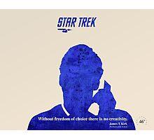 Star Trek quote Photographic Print