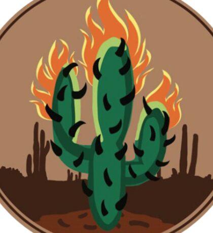 Rodeo Cactus Sticker