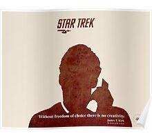 Red Star Trek Poster