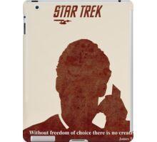 Red Star Trek iPad Case/Skin