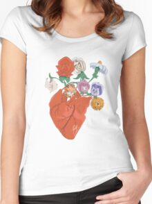 Spring Love Women's Fitted Scoop T-Shirt