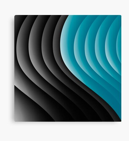 Abstract waves 10 Canvas Print