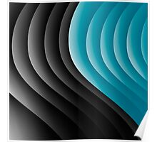 Abstract waves 10 Poster