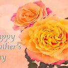 Happy Mother's Day Burst Of Beauty Orange Roses by daphsam