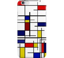 Mondrian Pattern iPhone Case/Skin