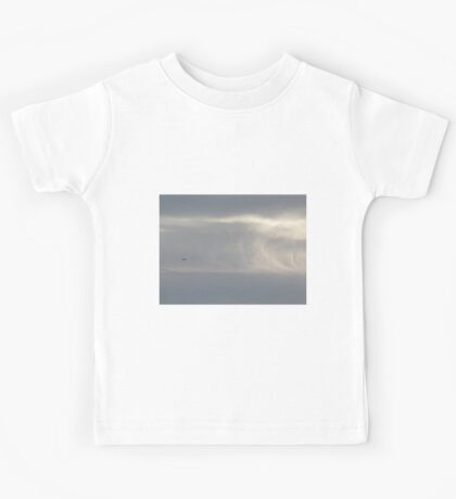 Boeing 747 on the clouds Kids Tee