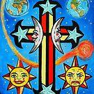 Celestial Cross by WildestArt