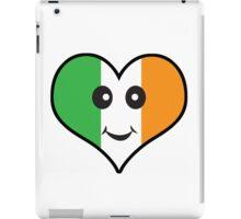 Cute Irish Heart Smiley Face iPad Case/Skin
