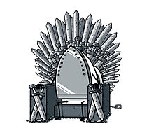 Iron throne Photographic Print