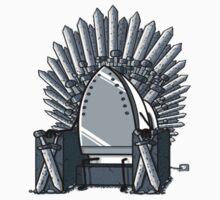 Iron throne One Piece - Short Sleeve