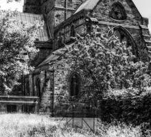 Carlisle Cathedral - B&W Sticker
