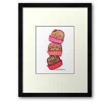 Chocolate Truffle Tower Framed Print