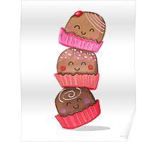 Chocolate Truffle Tower Poster