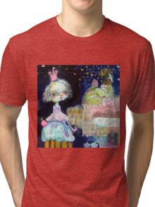 Cupcake Float Tri-blend T-Shirt