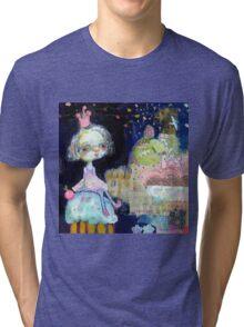 Cupcake Float Tri-blend T-Shirt