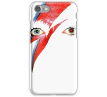 David Bowie Aladdin Sane Lightning Bolt iPhone Case/Skin