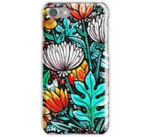 Spider Mum Garden iPhone Case/Skin