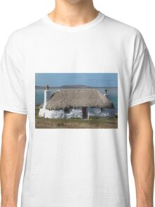 North Uist Thatched Cottage Classic T-Shirt