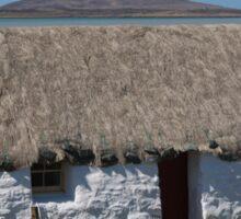 North Uist Thatched Cottage Sticker