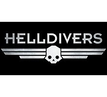 Helldivers Logo Photographic Print