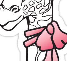 Ms Giraffe Sticker
