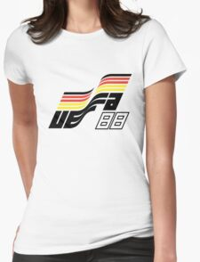 UEFA European Football Championship 1988 Germany Womens Fitted T-Shirt