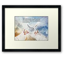 The Gift of Peace Framed Print