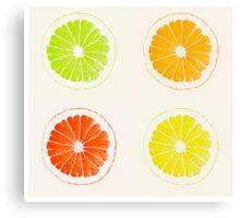 Citrus Squared Canvas Print