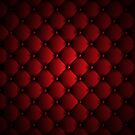 Tufted Cushion - Red by Serdd