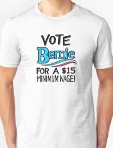 VOTE BERNIE Unisex T-Shirt