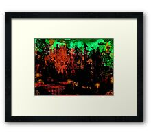 The Red River Framed Print
