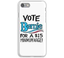VOTE BERNIE iPhone Case/Skin
