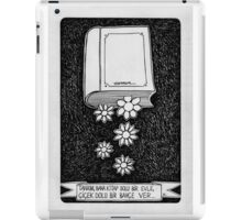 Book and flower  iPad Case/Skin