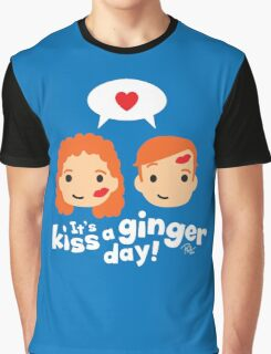 Kiss a Ginger! Graphic T-Shirt